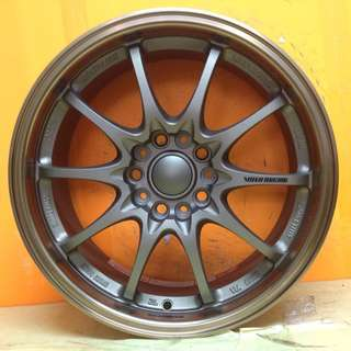 17 inch SPORT RIM VOLK RACING CE28 10SPOKE RASY WHEELS