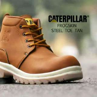 Caterpillar Frogskin Steel Toe