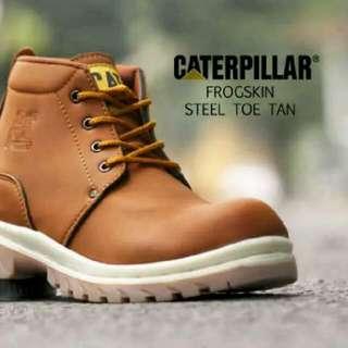 Caterpillar Frogskin Steel Toe