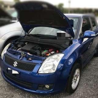 Suzuki Swift 1.5 Auto Keyless Tahun 2010