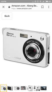 "Aberg Best 21 Mega Pixels 2.7"" LCD Rechargeable HD Digital Camera"