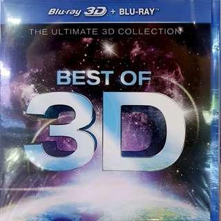 BEST OF 3D (3D+BLURAY)