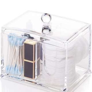 Acrylic Storage Cosmetic Bathroom Holder with 4 Compartments
