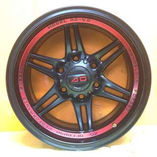16 inch SPORT RIM 4x4 AD-V2 RACING WHEELS