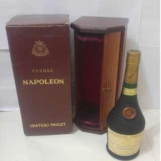 (261) Chateau Paulet Napoleon 700ml 40% (有盒) 日本法國舊酒洋酒威士忌白蘭地干邑拿破崙whisky brandy cognac xo vsop napoleon
