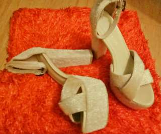 Janylin~ nude high heel platform
