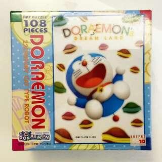 [中古] 多啦a夢拼圖 | [Antique] Doraemon Puzzles 108 pieces