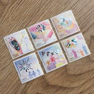 🎈面值$20.7 心思心意郵票 香港特別郵票
