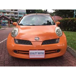 NISSAN MARCH cheap rental $40