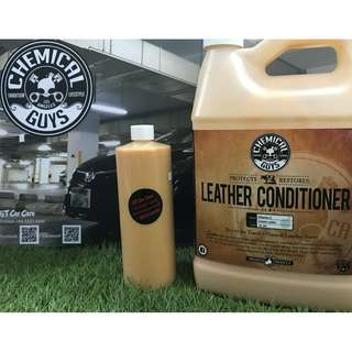 Chemical Guys Vintage Series Leather Conditioner (500ml no label)