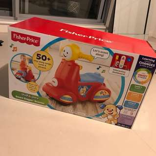 Brand new Fisher price Smart stages Scooter!