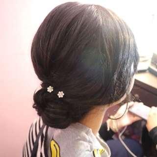 Jasa hairdo makeup sanggul pengantin bridal ulangtahun pesta wedding birthday