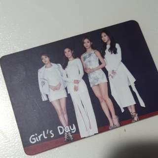 Girl's Day yescard