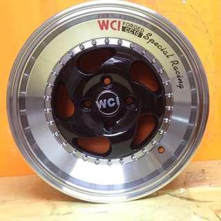 15 inch SPORT RIM WCI CC10 SPECIAL RACING WHEELS