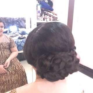 Jasa makeup hairdo wedding party engagement bridal rias pengantin