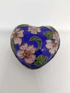 Oriental Heart-shaped container (Blue)