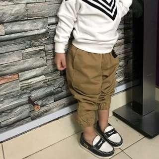 Boys stylish leather shoes