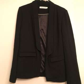Atoms & here black blazer