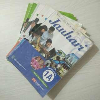 Jauhari books for sec 1, 2 & 3