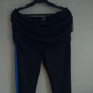 Black&Blue Sporty Jogging Pants (Size 32)