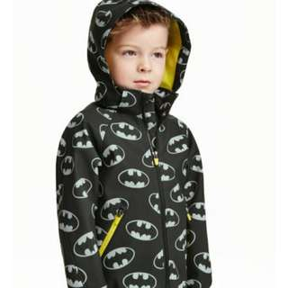 H&M Batman soft shell jacket