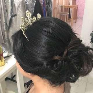 Jasa makeup hairdo bridal rias pengantin party engagement