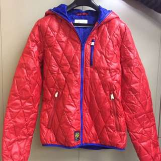 80% down 20% feather padded jacket with hoodDown jacket
