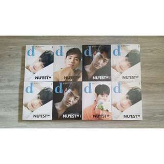 [G.O. ARRIVAL] NU'EST W Dispatch Magazines
