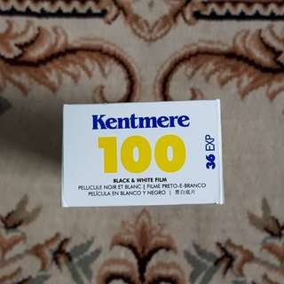 Kentmere 100 Black and White Fresh Film ( iso 100 )