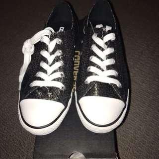 Converse black shoes