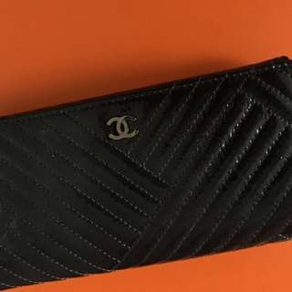 Chanel Patent Wallet