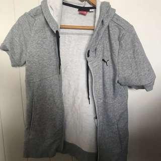 puma t-shirt hoodie