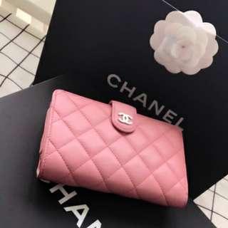 Chanel Lambskin Bifold Wallet