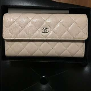 Chanel Caviar Flap Wallet