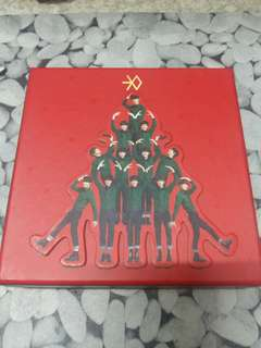 EXO MIRACLES IN DECEMBER ALBUM CHINESE VER
