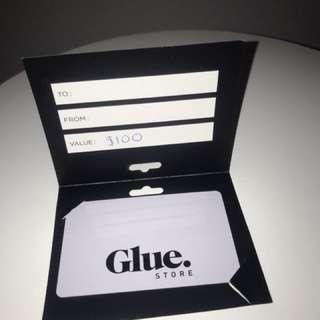 Glue store voucher $100 worth