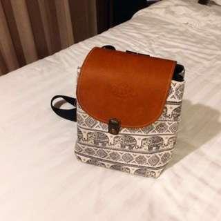🚚 降價!泰國大象質感包 超新 #我有後背包要賣