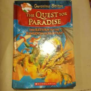 Geronimo Stilton-The Quest For Paradise