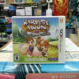 🆕 3DS Harvest Moon The Lost Valley