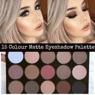 *INSTOCK* 15 Colour Warm Coffee Eyeshadow Palette