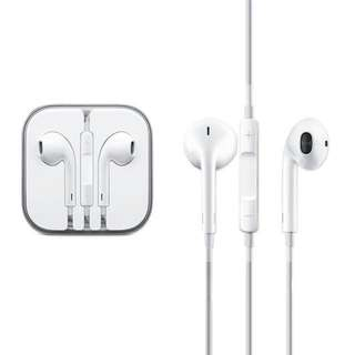 Authentic Apple EarPods With 3.5mm Headphone Plug With Remote and Mic