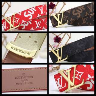 LV Supreme Louis Vuitton Belt