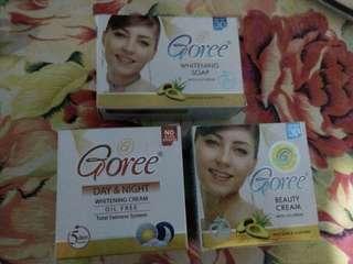 Goree beauty cream and soap