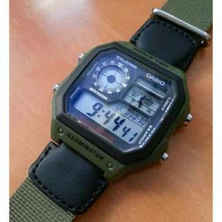 📗📗📗6折全新行貨卡西歐防水数字錶-40% Off Brand New Original Casio Water Resistance Digits Watch