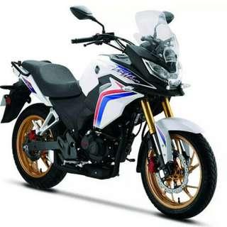 Brand New Honda CBF190X