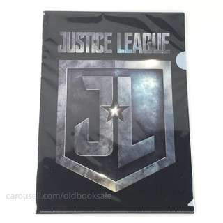 BNIP Justice League Logo File A4 Side & Top Opening
