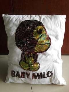 Baby Milo Pillow N Cap