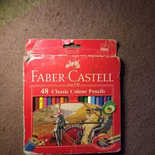 Faber Castell 48 Classic Colored Pencils