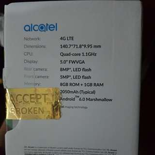 Alcatel U5 (premium edition)