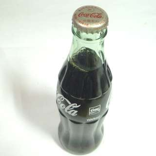 Old Glass COCA COLA Bottle JAPAN 1999 COKE Rare 190ml Chinese Collect Asia
